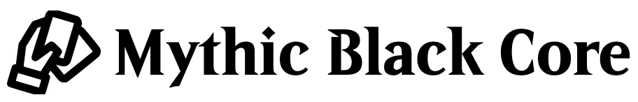 Mythic Black Core Logo